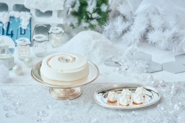 画像3: 「Royal White Christmas(ロイヤル・ホワイトクリスマス)」のデザート(一部)