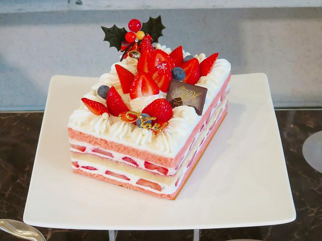画像: クリスマスショートケーキ