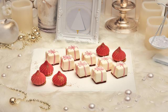 画像7: 「Royal White Christmas(ロイヤル・ホワイトクリスマス)」のデザート(一部)