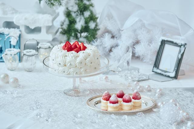 画像4: 「Royal White Christmas(ロイヤル・ホワイトクリスマス)」のデザート(一部)