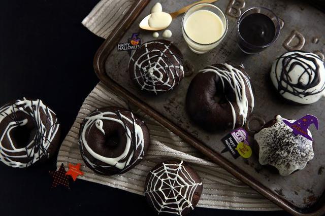 画像: 「ABC Cooking MARKET」の手作りキット「ダブルショコラのハロウィンドーナツ」