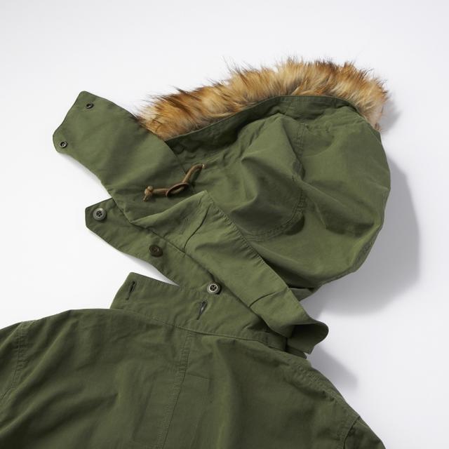 画像9: ミリタリージャケットの代表格M-65をリアルに再現! ライトオンのプライベートブランド「BACK NUMBER」より『モッズコート』 が新発売