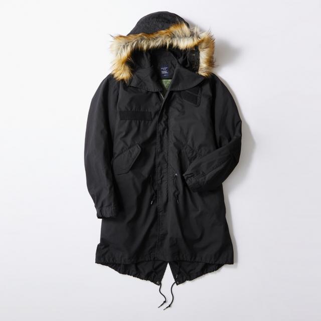画像5: ミリタリージャケットの代表格M-65をリアルに再現! ライトオンのプライベートブランド「BACK NUMBER」より『モッズコート』 が新発売