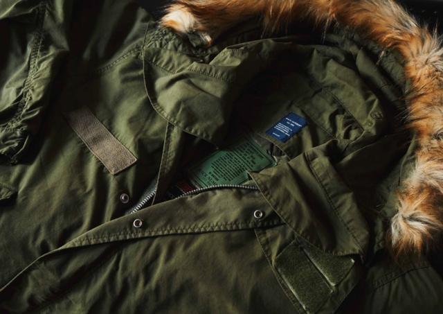画像1: ミリタリージャケットの代表格M-65をリアルに再現! ライトオンのプライベートブランド「BACK NUMBER」より『モッズコート』 が新発売