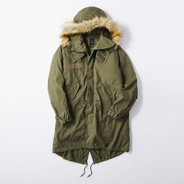 画像4: ミリタリージャケットの代表格M-65をリアルに再現! ライトオンのプライベートブランド「BACK NUMBER」より『モッズコート』 が新発売