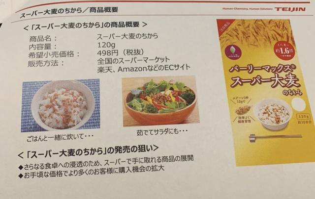 画像1: スーパー大麦バーリーマックス®「スーパー大麦のちから」