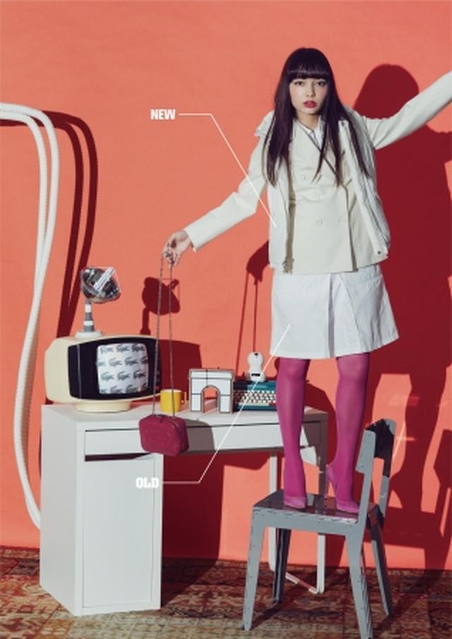 画像: ▼パワードレッシング 女性の社会進出が進んだ80年代に流行した言葉。 男性社会で働くなか、女性たちが能力や強さ、キャリアを示すために纏った仕事服のこと。現代風に気取らないエレガンスを表現したアレンジ。 ▼OLDアイテム ・ジャケット ・ワンピース