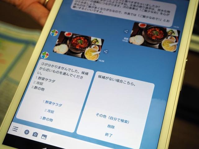 画像2: スマホで手軽に食生活チェック&食事分析がうけられる!