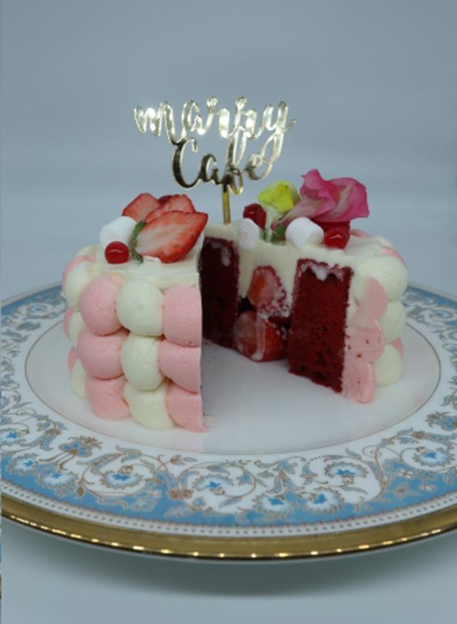 画像4: クリスマスケーキが初登場!フォトジェニックなケーキを作って食べられる「marryカフェ」