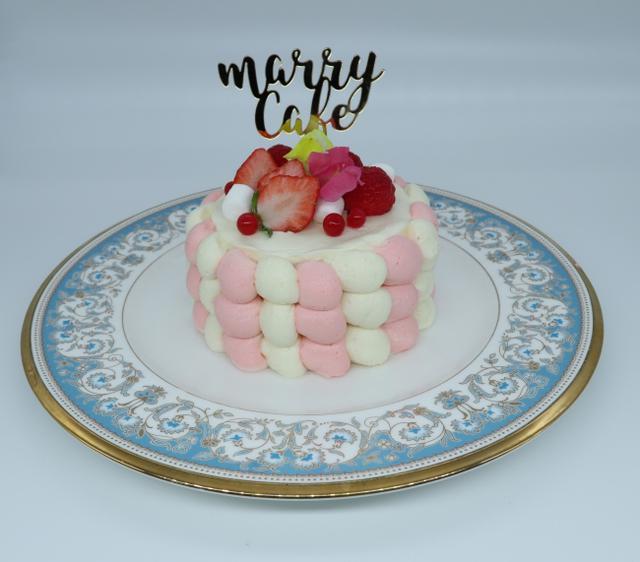 画像5: クリスマスケーキが初登場!フォトジェニックなケーキを作って食べられる「marryカフェ」