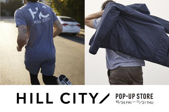 画像1: SHIPS 渋谷店にて、GAP(ギャップ)が手掛ける日本初上陸のハイパフォーマンスウエアブランド「HILL CITY(ヒル シティ)」のポップアップストアを開催!