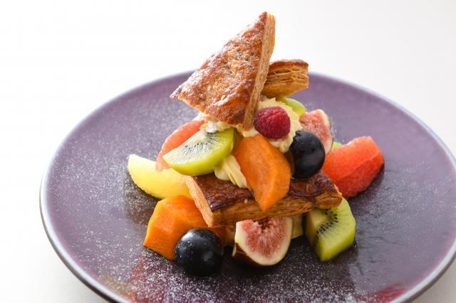 画像: 「秋の果実のミルフィーユ」 価格:1,760円(税込)