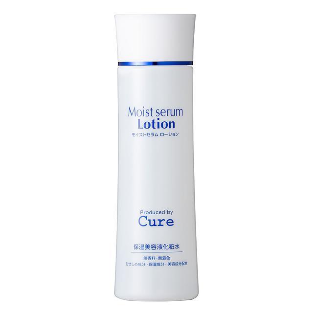画像: モイストセラムローション Moist Serum Lotion 保湿美容液化粧水 180ml-Cure