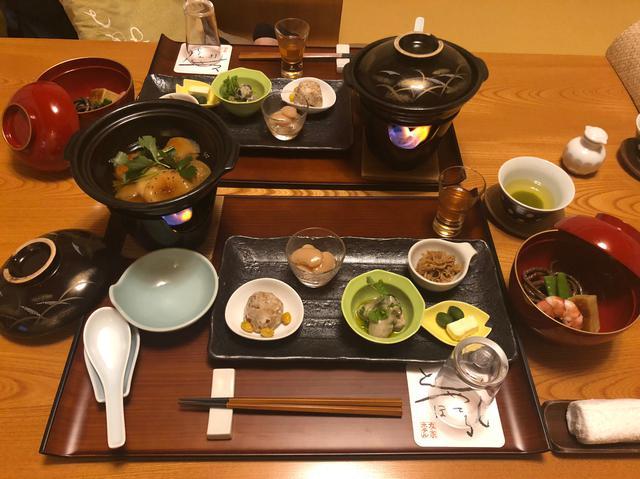 画像2: 夕食は憧れのお部屋食♡