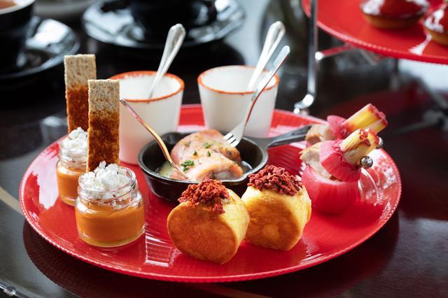画像4: 【東京マリオットホテル】「TOKYO RED Afternoon Tea(トウキョウ レッド アフタヌーンティー)」レッドカラーに染まる華やかなスイーツ&セイボリー