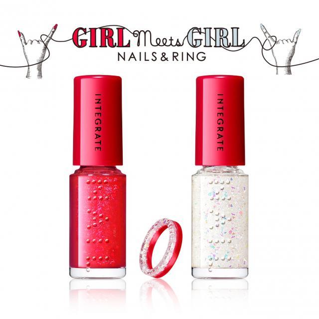 画像1: 【インテグレート】指先から世界の女の子とつながるソーシャルグッドなネイルセットを発売