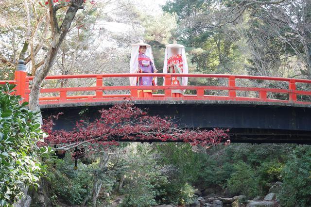 画像1: 広島女子旅。宮島で、平安時代の姫に変身♪