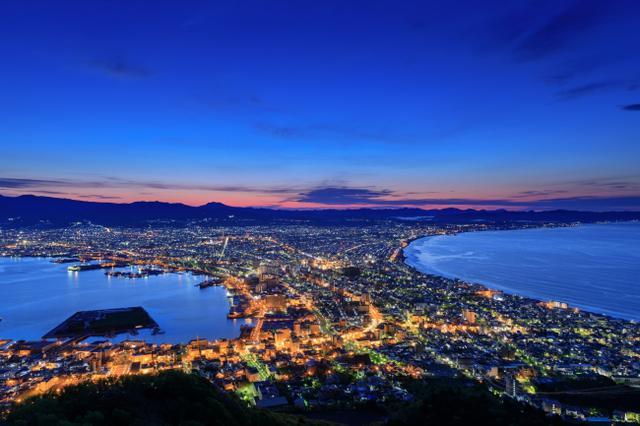 画像: 函館の夜景