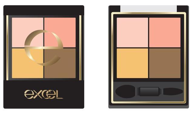 画像: メイクアップブランド『エクセル』から、 色と質感の重ね着を楽しむ、 ファッション感覚アイシャドウ 「リアルクローズシャドウ」の限定色 発売