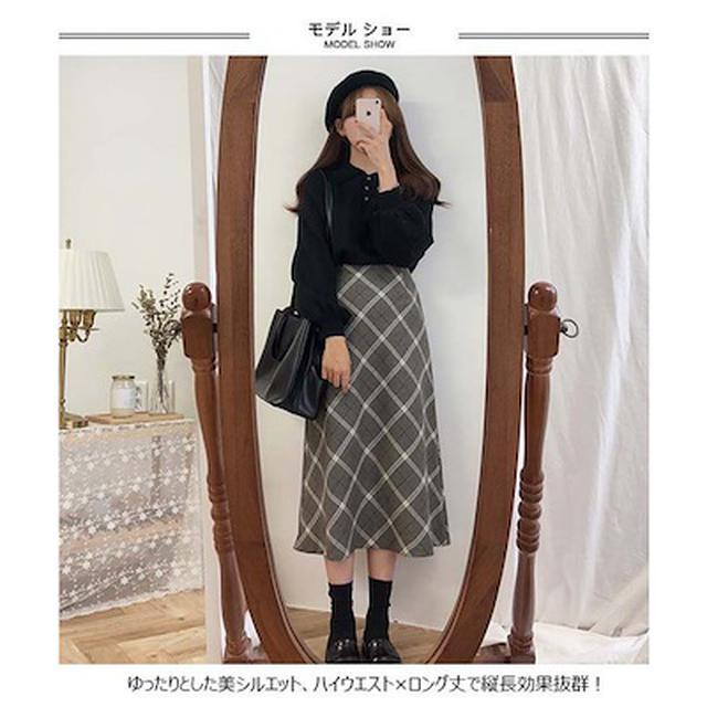 画像5: 暖かくてかわいい!寒い日のロングスカート7選