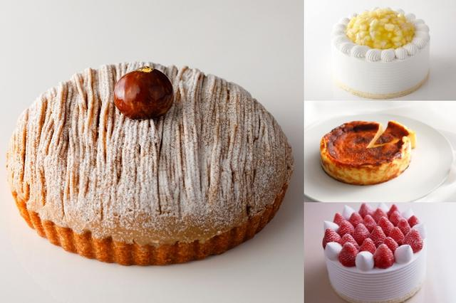 画像1: バスクチーズケーキも仲間入り!年末年始はシェアしてハッピーなホールケーキはいかが?