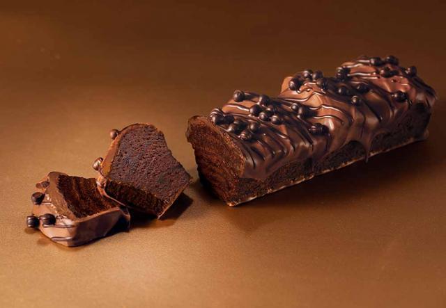 """画像: ショコラバームにショコラがけ!""""まるでショコラテリーヌ""""なバームクーヘンが、バレンタインシーズン限定登場"""