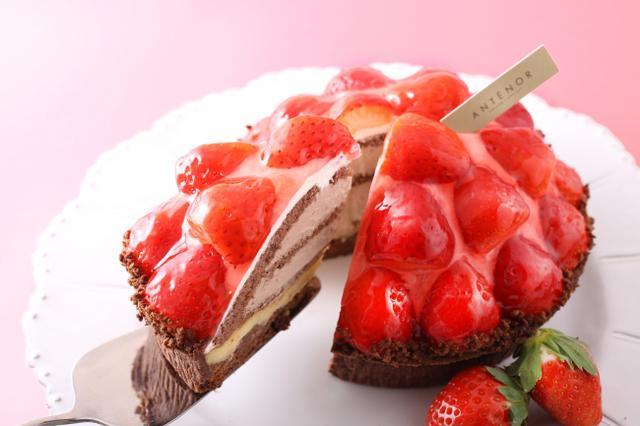画像1: 苺づくし!あまおう苺・紅ほっぺ苺のケーキ、デザートが勢ぞろい!