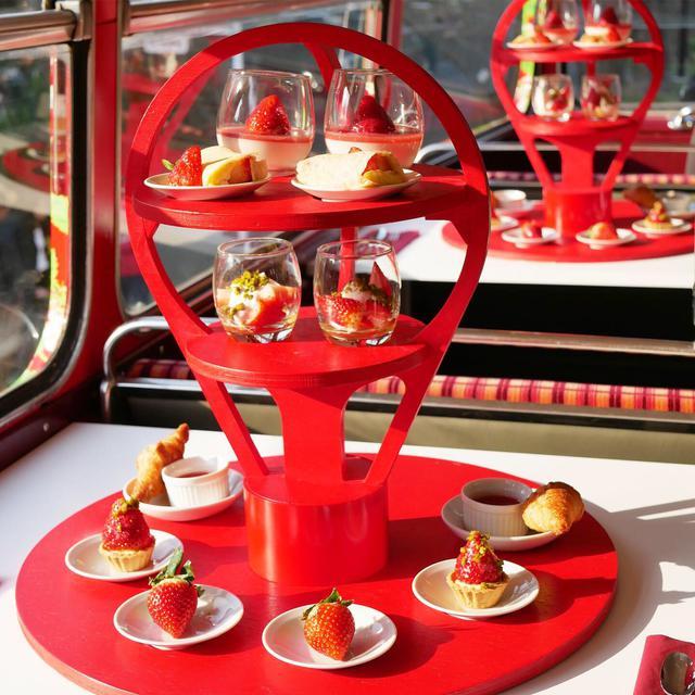 画像1: 【試食レポ】佐賀県の新しいブランドいちご「いちごさん」を食べながら都内を巡る「いちごさんバス」運行!