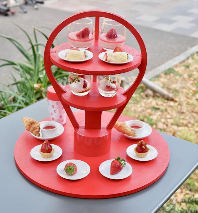 画像4: 【試食レポ】佐賀県の新しいブランドいちご「いちごさん」を食べながら都内を巡る「いちごさんバス」運行!