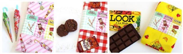 画像4: 「ミルキー」や「パラソルチョコレート」など不二家のお菓子が布地に!