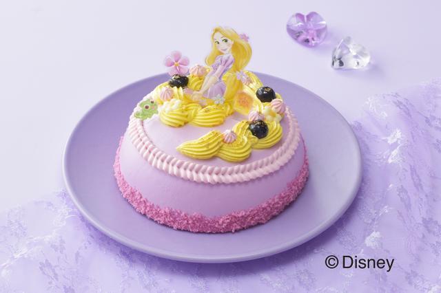 画像: 【銀座コージーコーナー】ひなまつりに!予約限定1,000台!3月3日は、女の子を楽しもう!憧れの<ラプンツェル>ドレスケーキを飾ってパーティー♪