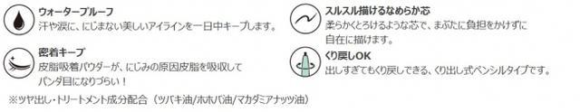 画像4: ジョリ・エ ジョリ・エの人気アイライナーシリーズに流行のメタリックカラーが登場!