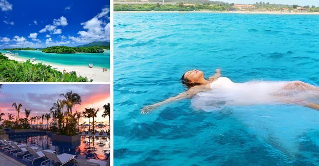 """画像1: 水中でのウエディングが叶うマリンドレス・ALLIES、石垣島で""""マリンフォトウエディング""""をスタート"""
