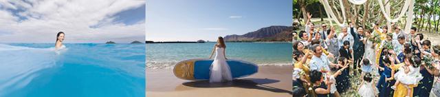 """画像6: 水中でのウエディングが叶うマリンドレス・ALLIES、石垣島で""""マリンフォトウエディング""""をスタート"""
