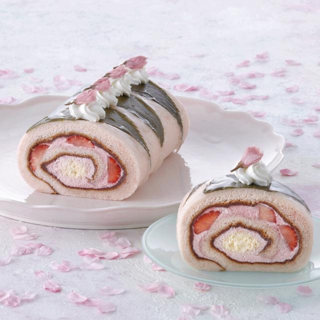 """画像3: 【パティスリー キハチ】桜の時期だけ「モンブランSAKURA」と新作の「SAKURAロール」を発売!テイクアウトで楽しむ """"苺のナポレオンパイ""""も♪"""