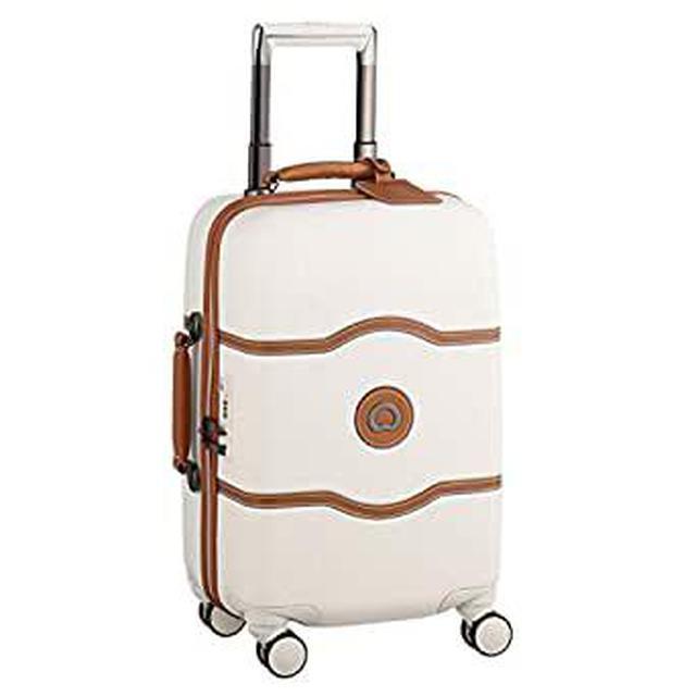 画像: Amazon.co.jp: DELSEY デルセー スーツケース シャトレ ハードキャリーケース キャリーバッグ CHATELET HARD+ ストッパー機能 機内持ち込み 小型 Sサイズ/中型Mサイズ/大型Lサイズ 14年国際保証 ハンガー&収納袋付属 …: 服&ファッション小物