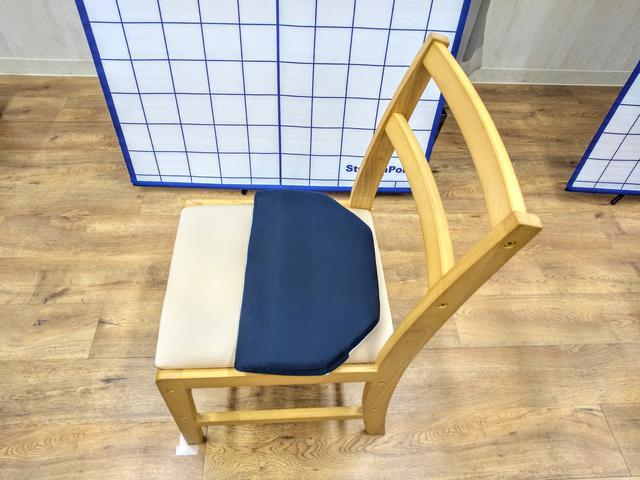 画像2: 【体験レポ】座るだけで姿勢がシャキン!おしり専用枕「OSHIRI MAKURA」