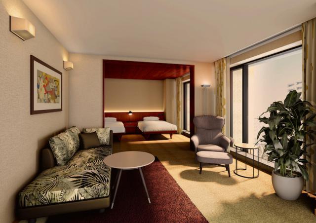画像3: 『THE AOYAMA GRAND HOTEL 』宿泊予約がスタート
