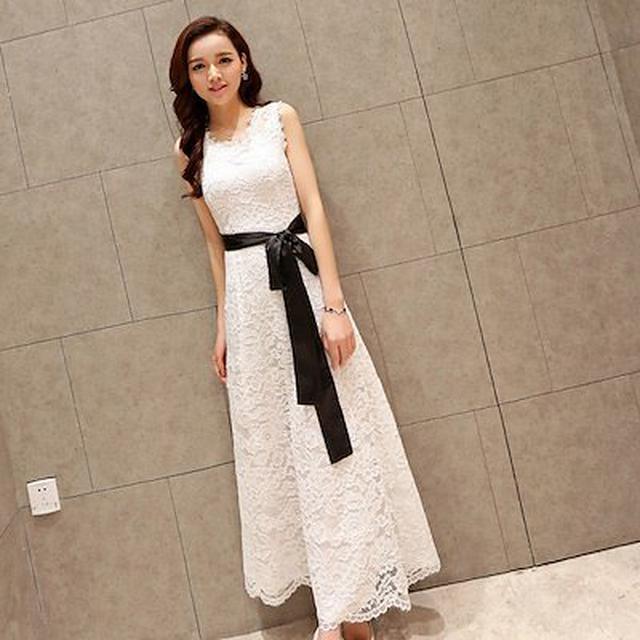 画像: [Qoo10] 結婚式 お呼ばれドレス フォーマル 超ロ... : レディース服