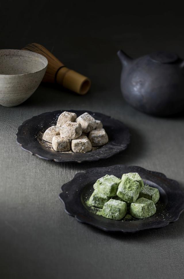 画像: 茶匠厳選の宇治抹茶やほうじ茶を贅沢に使用。ペアリングも楽しめる大人の焼菓子
