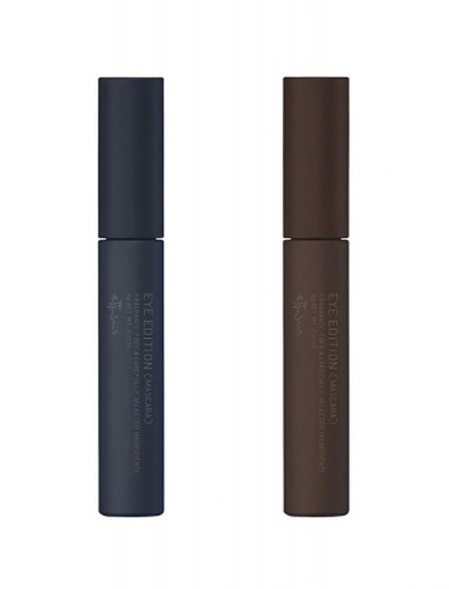 画像: (左から) 01 ラベンダーブラック ラベンダー系パールで洗練されたクリアな目もとに 02 バーガンディブラウン レッド系パールで抜け感のあるやわらかい目もとに
