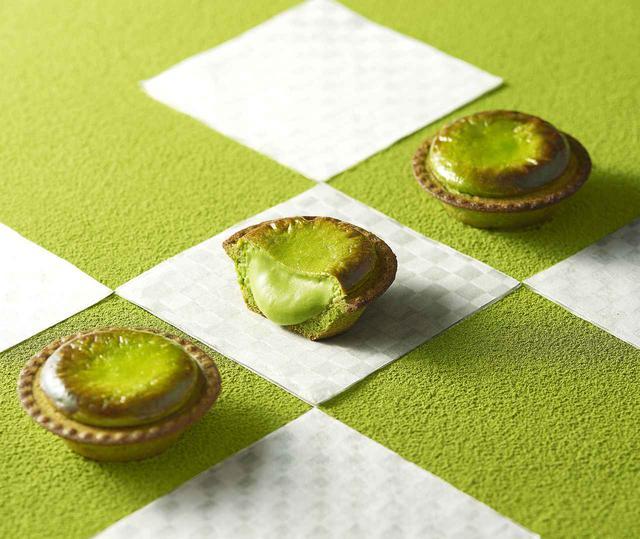 画像1: 新緑の季節に合わせて、オリジナルブレンドの宇治抹茶を使用したフレーバー「焼きたて抹茶チーズタルト」「BAKE抹茶ミルクソフト」新発売!