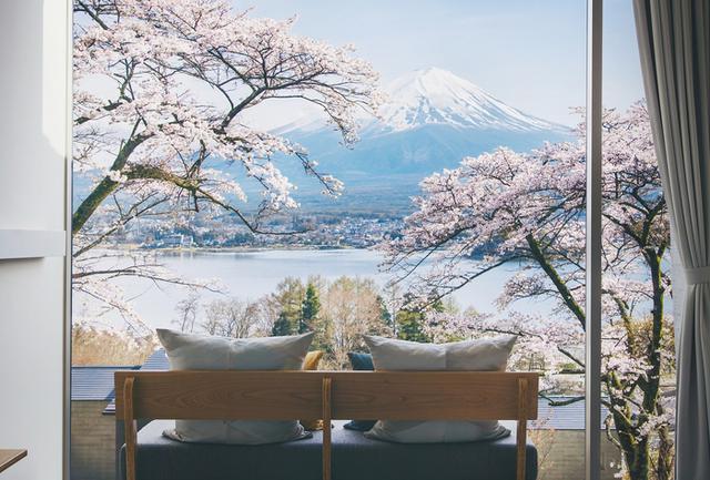 画像: 【星のや富士】花見を楽しむ桜アペロと春限定ディナーを楽しむ