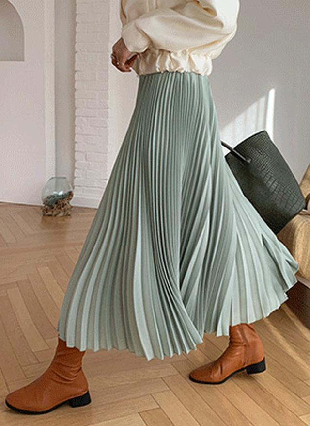 画像: [DHOLIC] プリーツフレアパンツ・全3色パンツ・ジーンズパンツ・ズボン|レディースファッション通販 DHOLICディーホリック [ファストファッション 水着 ワンピース]