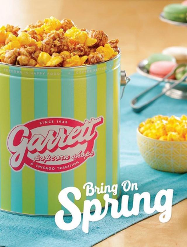 画像4: ペパーミントの爽快感とキャラメルのカリっと食感が楽しめるギャレット初のミント系レシピ!爽やかなイエロー×グリーンがかわいい春限定デザイン缶も