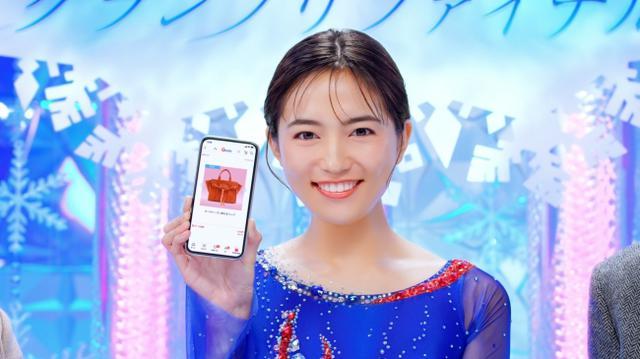 画像: 川口春奈がフィギュアスケート選手に! Qoo10WEB動画「ネットショッピンググランプリファイナル」篇が公開