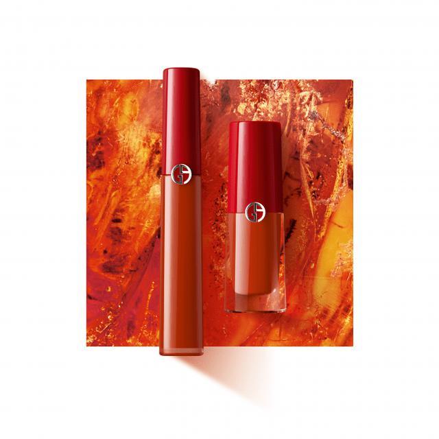 画像1: アルマーニ ビューティからトレンド感あふれるブリックオレンジのリップ マエストロが新登場