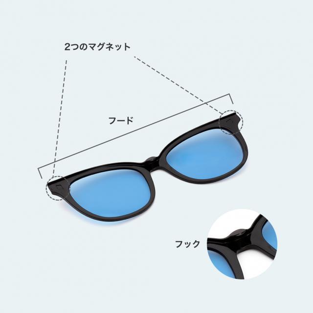 """画像2: 1本で""""メガネとサングラスの"""" 2WAYで便利な「Zoff NIGHT&DAY」がリニューアル発売"""