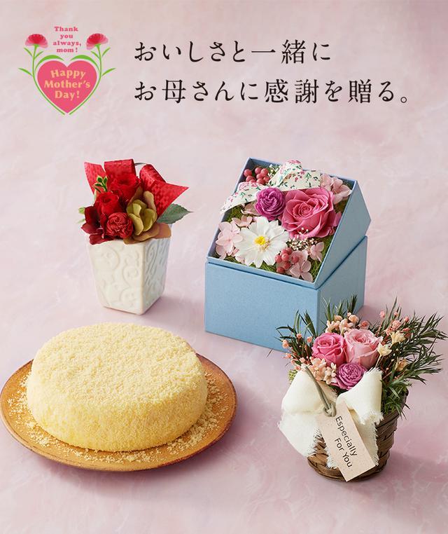 画像: 母の日ギフト2020 : チーズケーキの通販、お取り寄せならLeTAO | 小樽洋菓子舗ルタオ