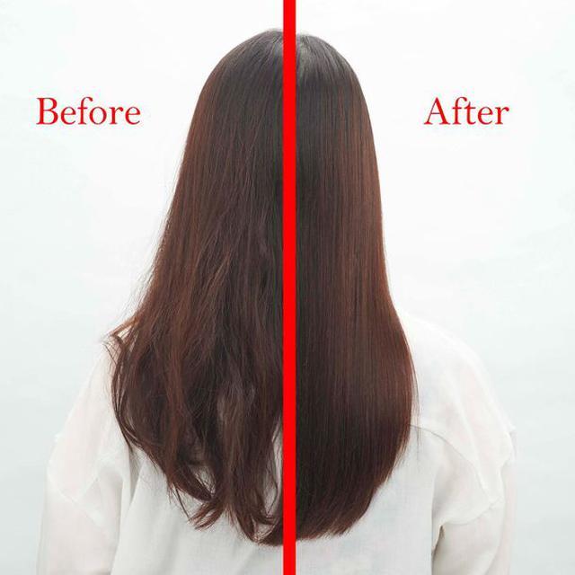 画像: スタイリング前後の比較